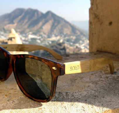 SOLO Eyewear have just unleashed a new line of unique bamboo sunglasses