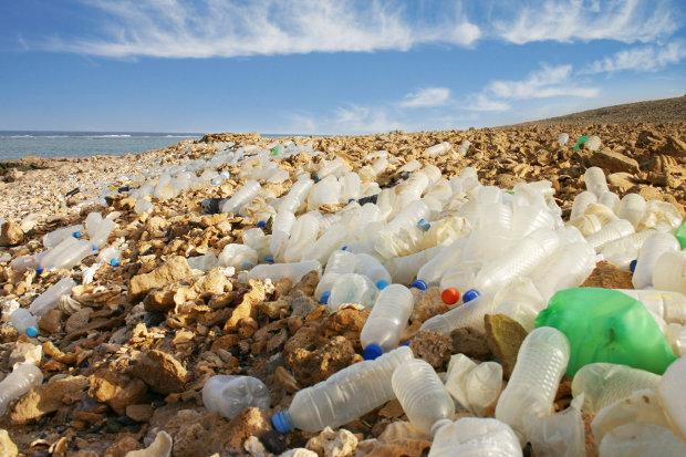 Plastic Beach Ocean