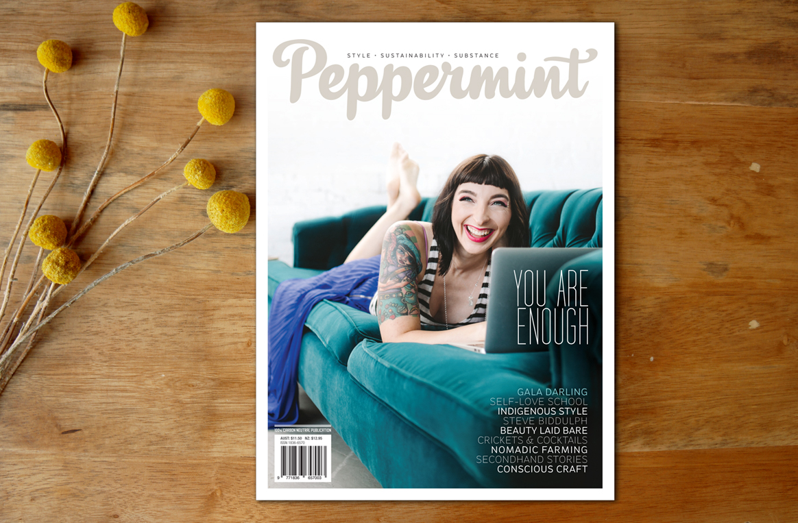 Gala Darling Cover - Peppermint Magazine