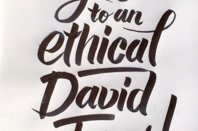 David Jones goes ethical. Image via Germaine Leong