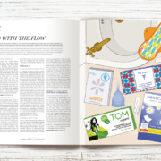 Peppermint Issue 25 - Sanitary Protection Mint Meter