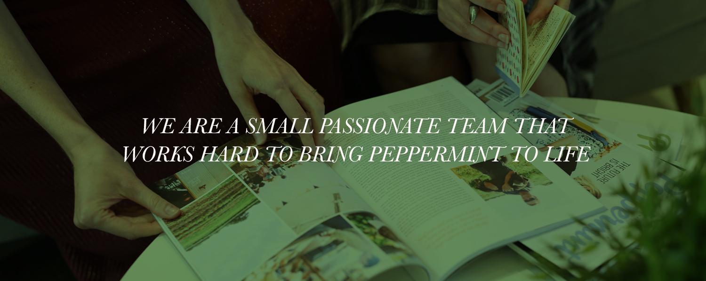Peppermint team header