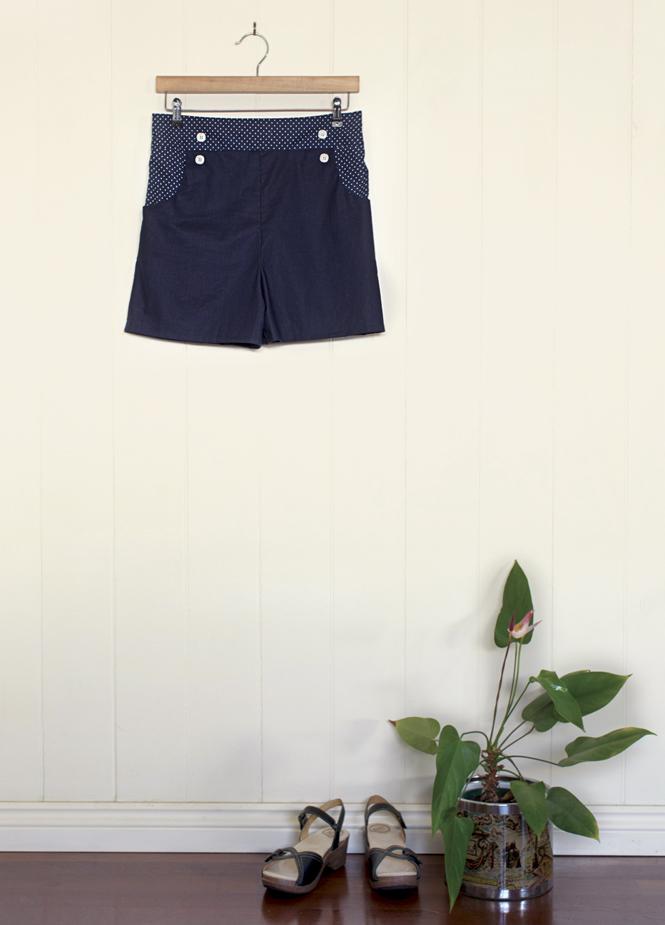 High Waisted Shorts Peppermint Magazine