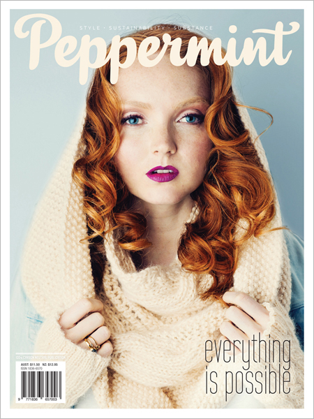 Peppermint magazine winter issue 22