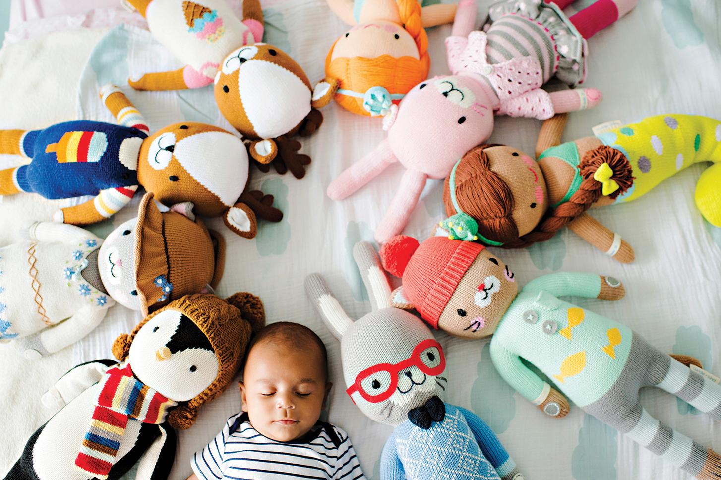 Cuddle + Kind dolls – Peppermint