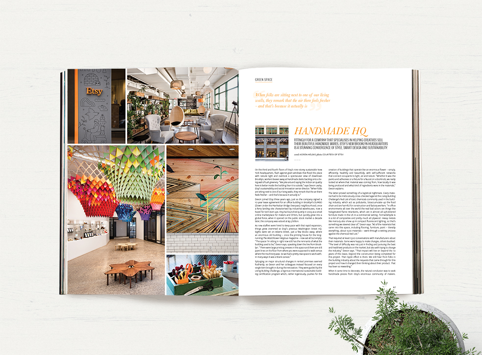 Issue 34 – Etsy headquarters