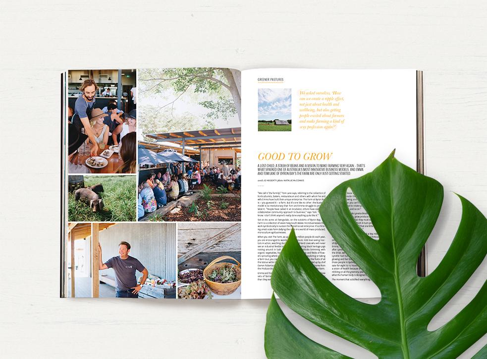 Issue 34 The Farm Byron Bay