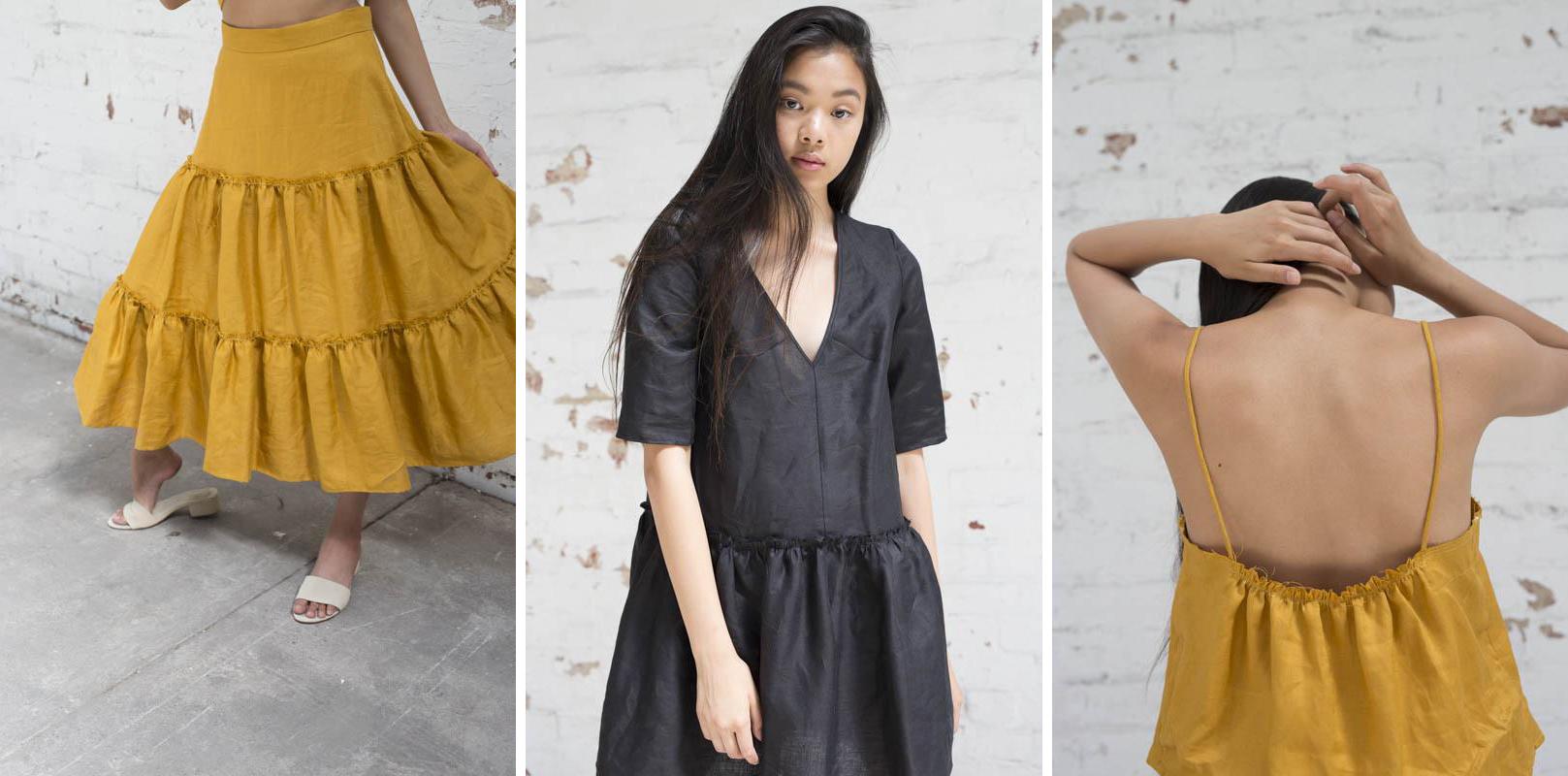 Lois Hazel linen dresses