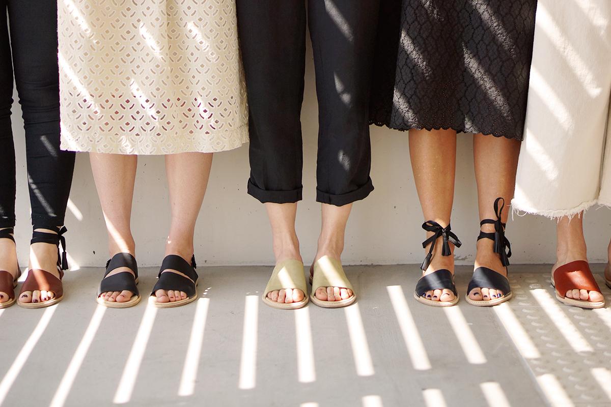 The Shoe Camaraderie – handmade leather sandal workshops