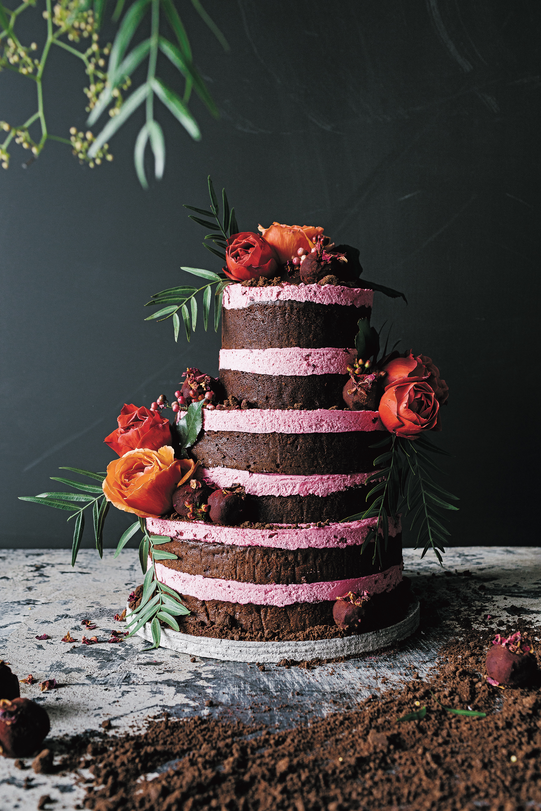 Beetroot and Truffle Cake – Stick Fingers, Green Thumb