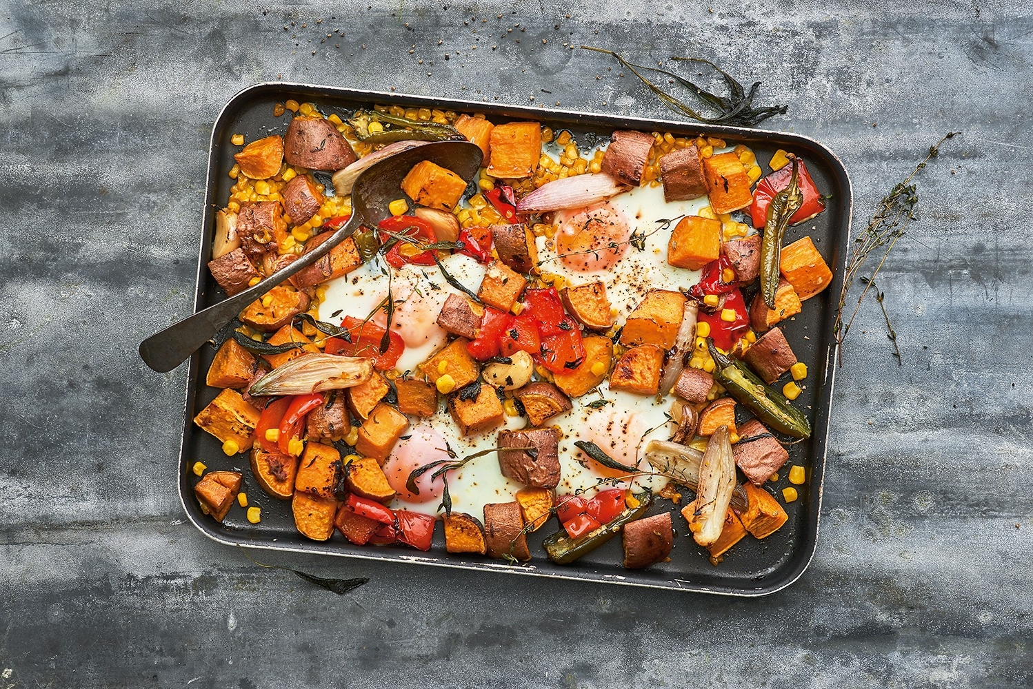 Superveg – sweet potato breakfast tray
