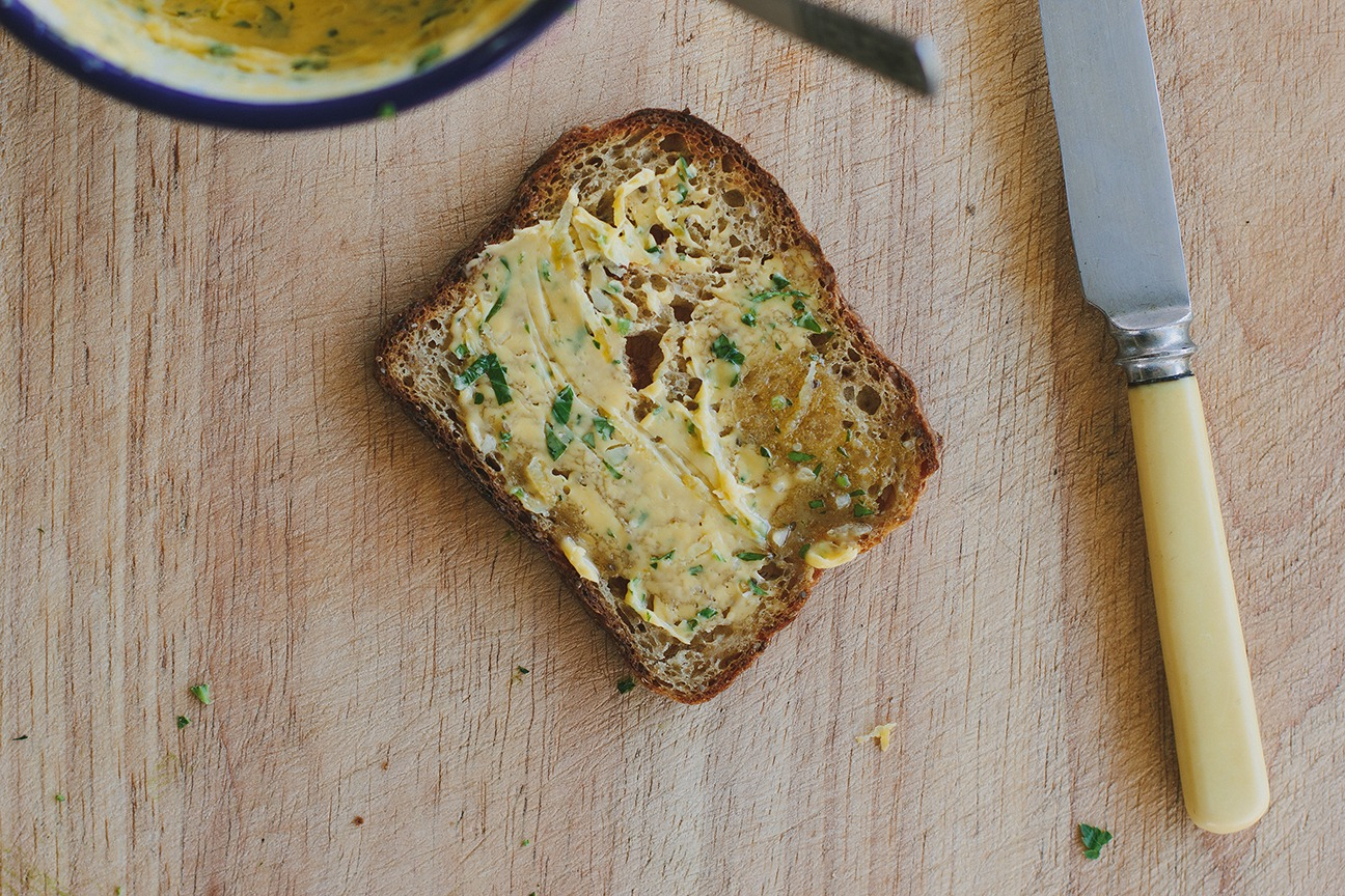 Peppermint Magazine make your own butter: My Darling Lemon Thyme