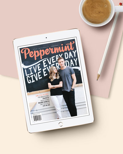 Peppermint magazine digital subscription