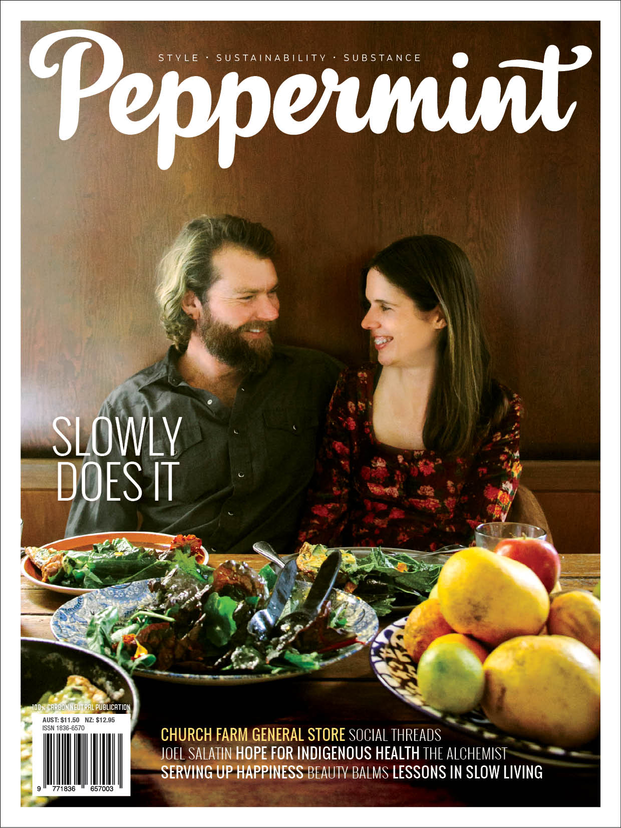 Peppermint Spring Issue 27 slowly does it