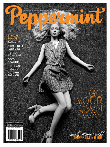 Peppermint magazine autumn issue 13
