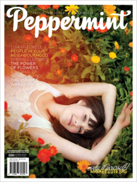 Peppermint magazine spring issue 15