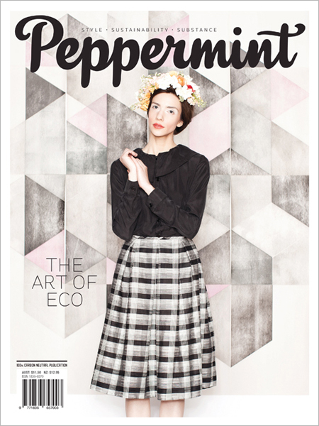 Peppermint magazine winter issue 18