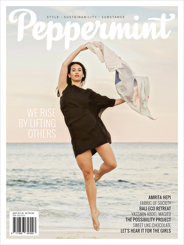 Peppermint magazine winter issue 30