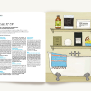 Peppermint Issue 29 - Bath Soaks Mint Meter