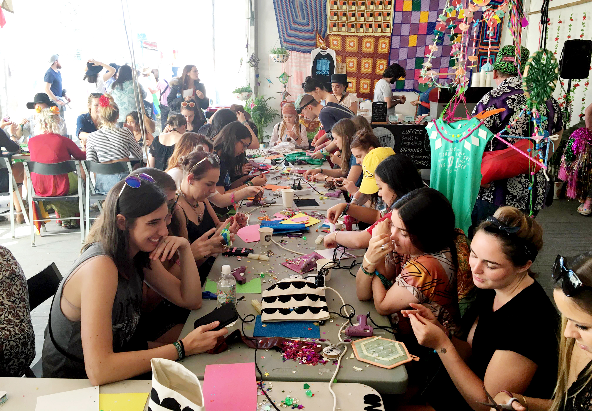 Splendour in the Craft 2016 crafters