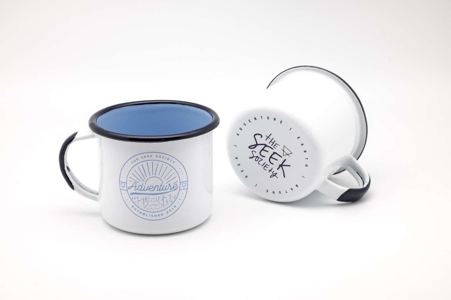The Seek Society - Enamel Mug