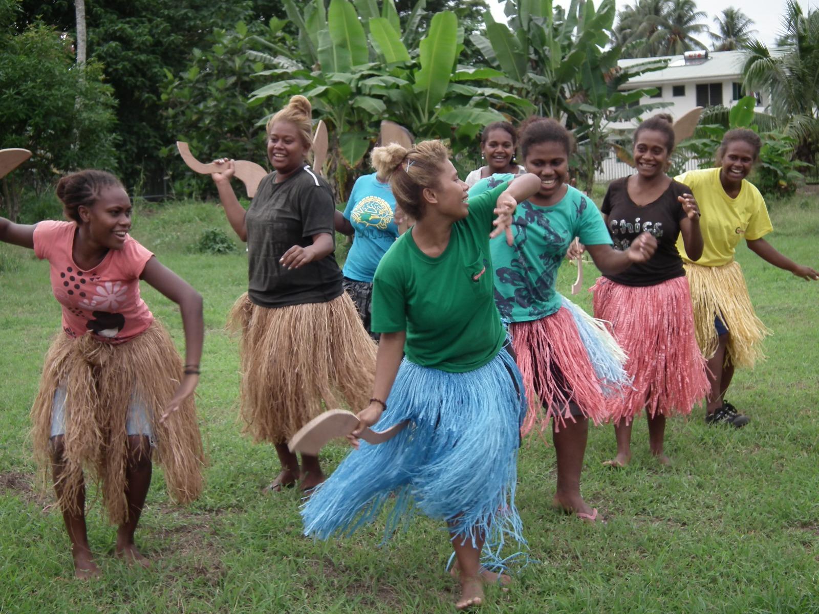 Girls dancing - Toyota Home Sewing