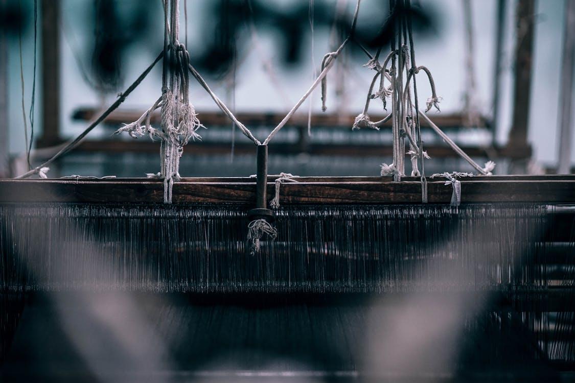 Workers Fashion Revolution Week Sewing machine