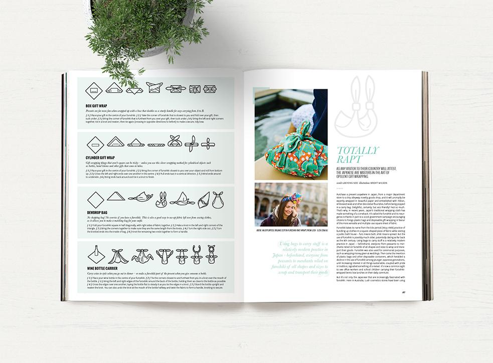 Issue 34 Furoshiki