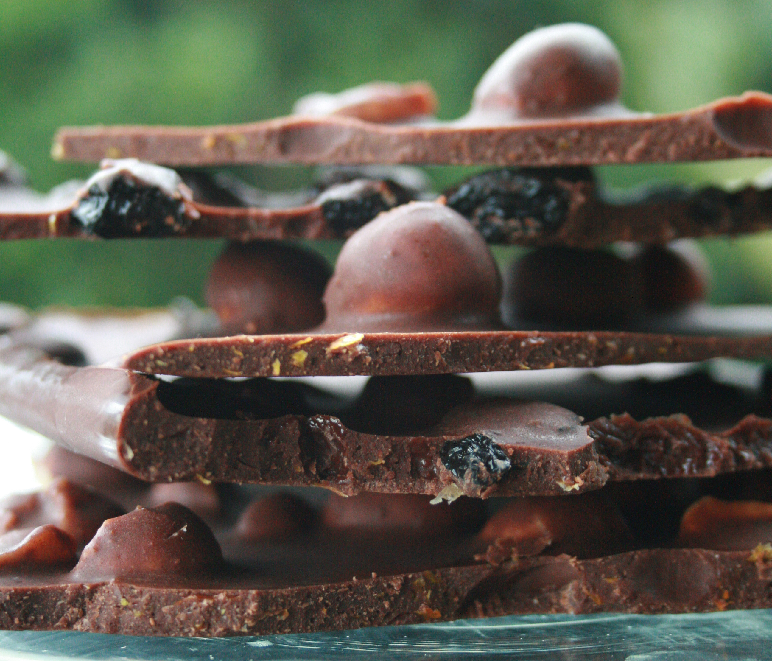 Model Abigail O'Neill recipe: model chocolate