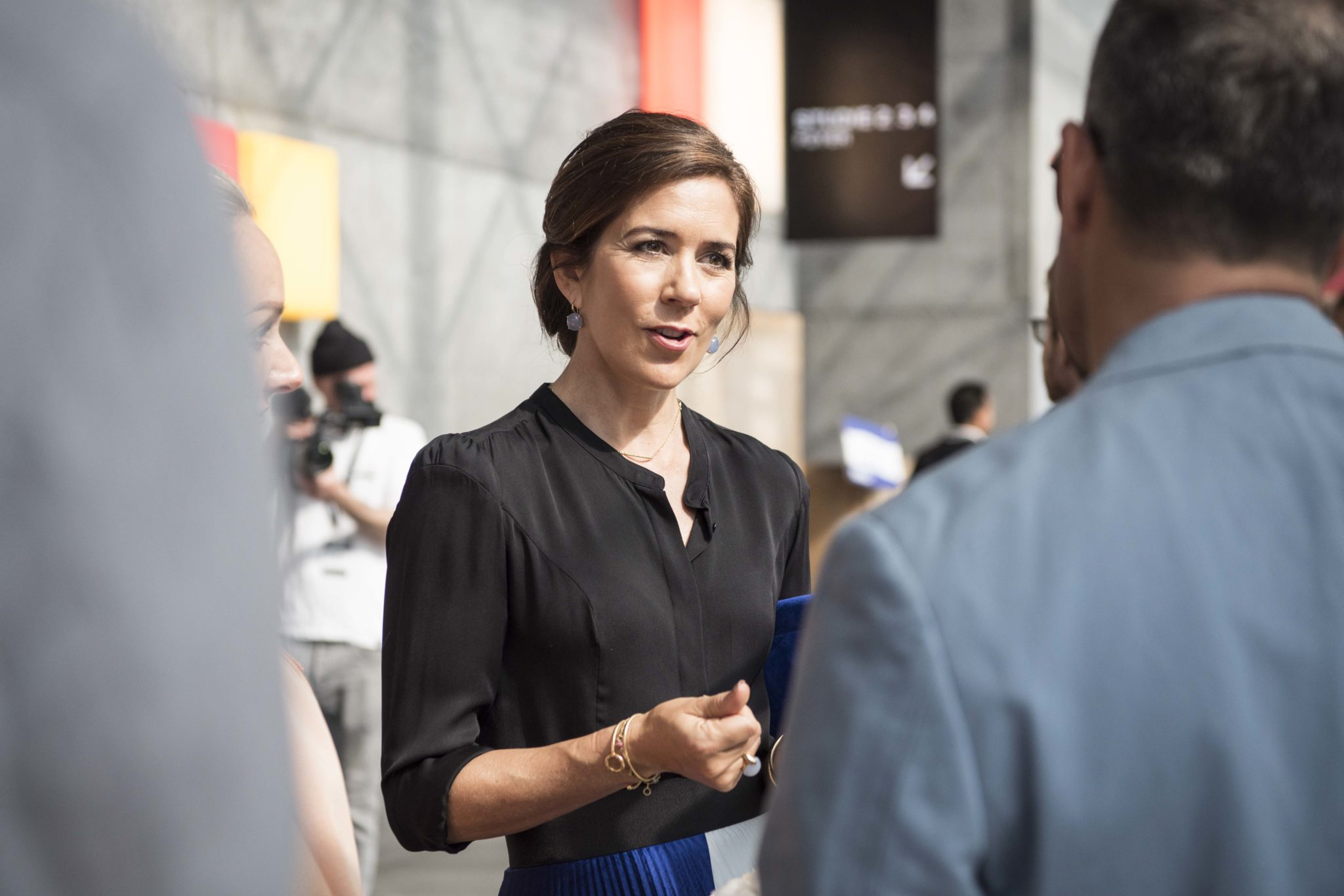 Princess Mary at the Copenhagen Fashion Summit