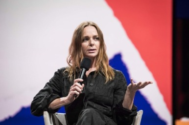 Stella McCartney at the Copenhagen Fashion Summit 2018