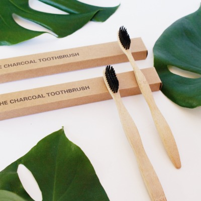 The Charcoal Toothbrush