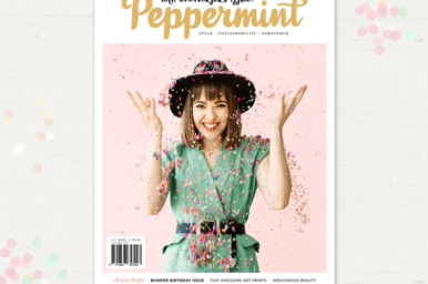 Peppermint Issue 39 cover: Leah Musch