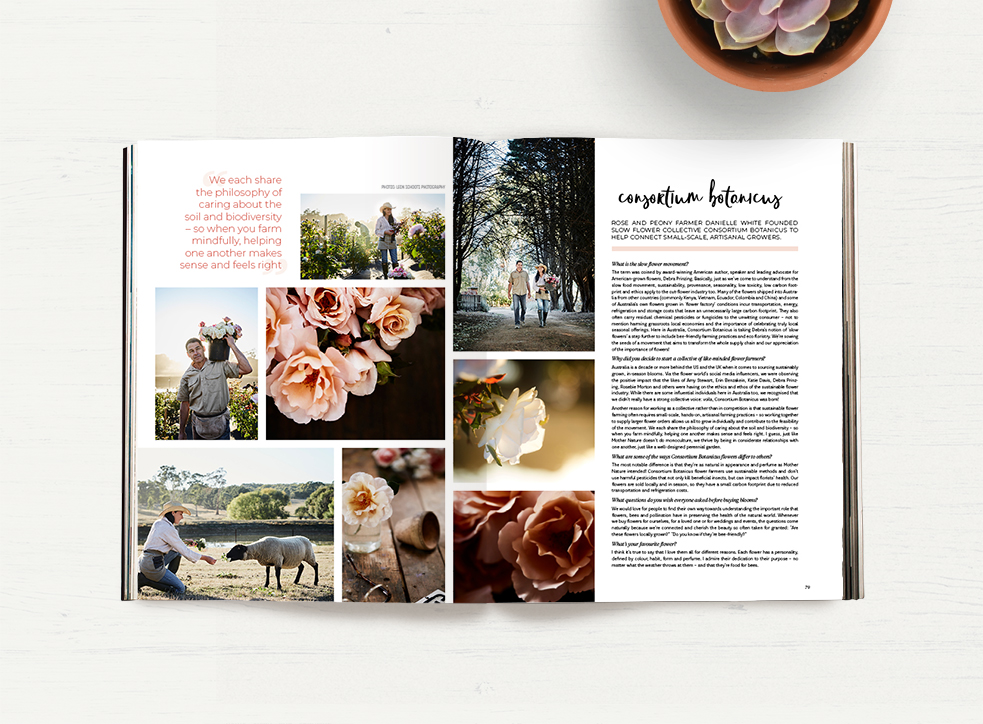 Peppermint Issue 39 Sustainable Floristry