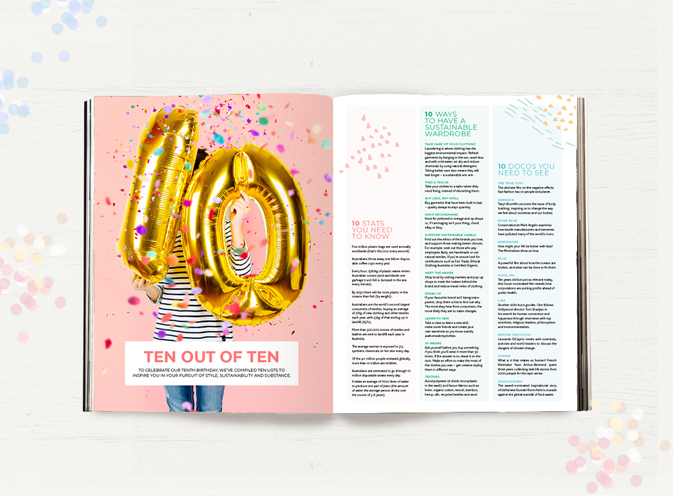 Peppermint Issue 39 ten out of ten lists