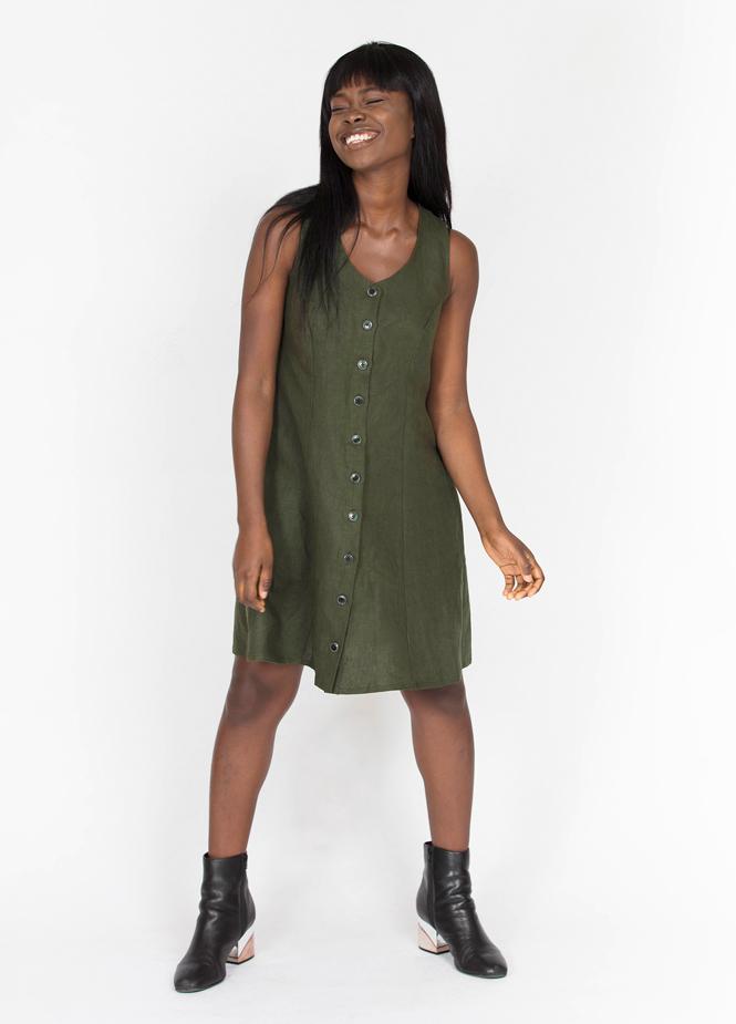Button Up Dress Peppermint Magazine