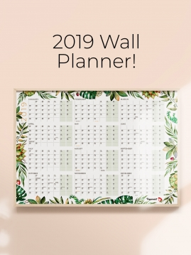Peppermint-WallPlanner