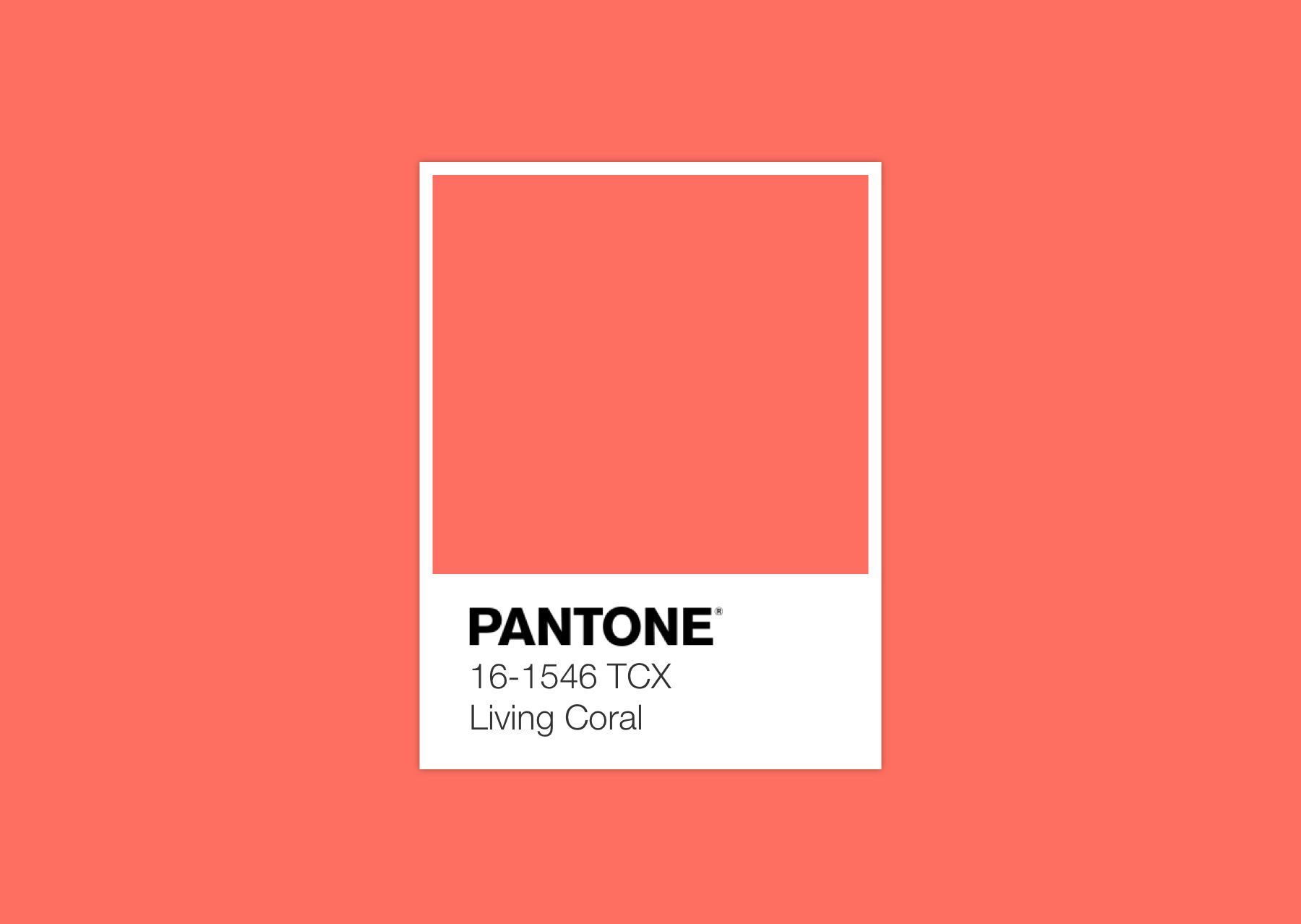 Pantone Living Coral – Peppermint magazine