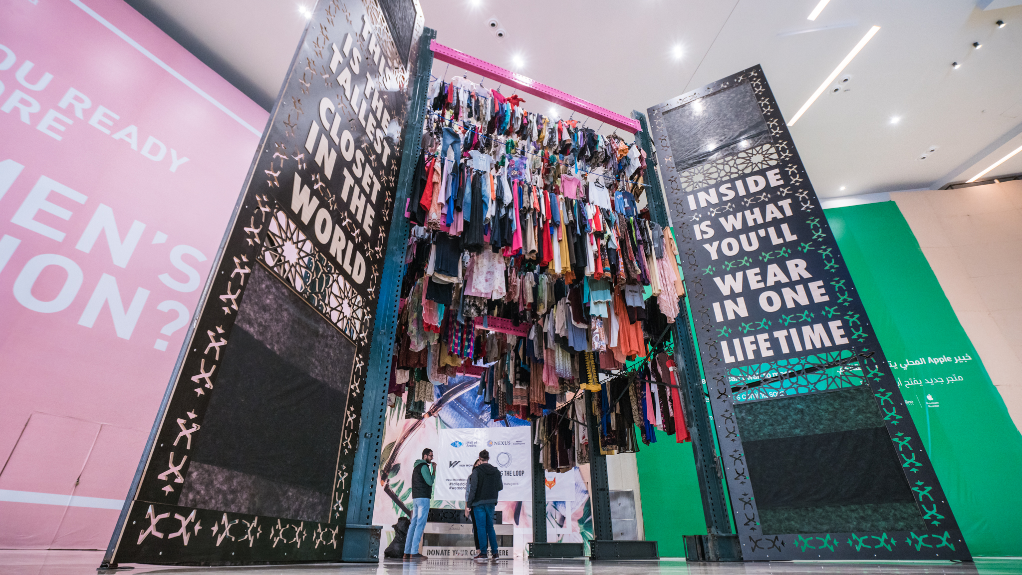 World's tallest closet – Peppermint magazine