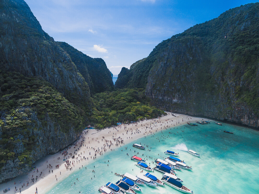 Maya Bay by Humphrey Muleba/Unsplash