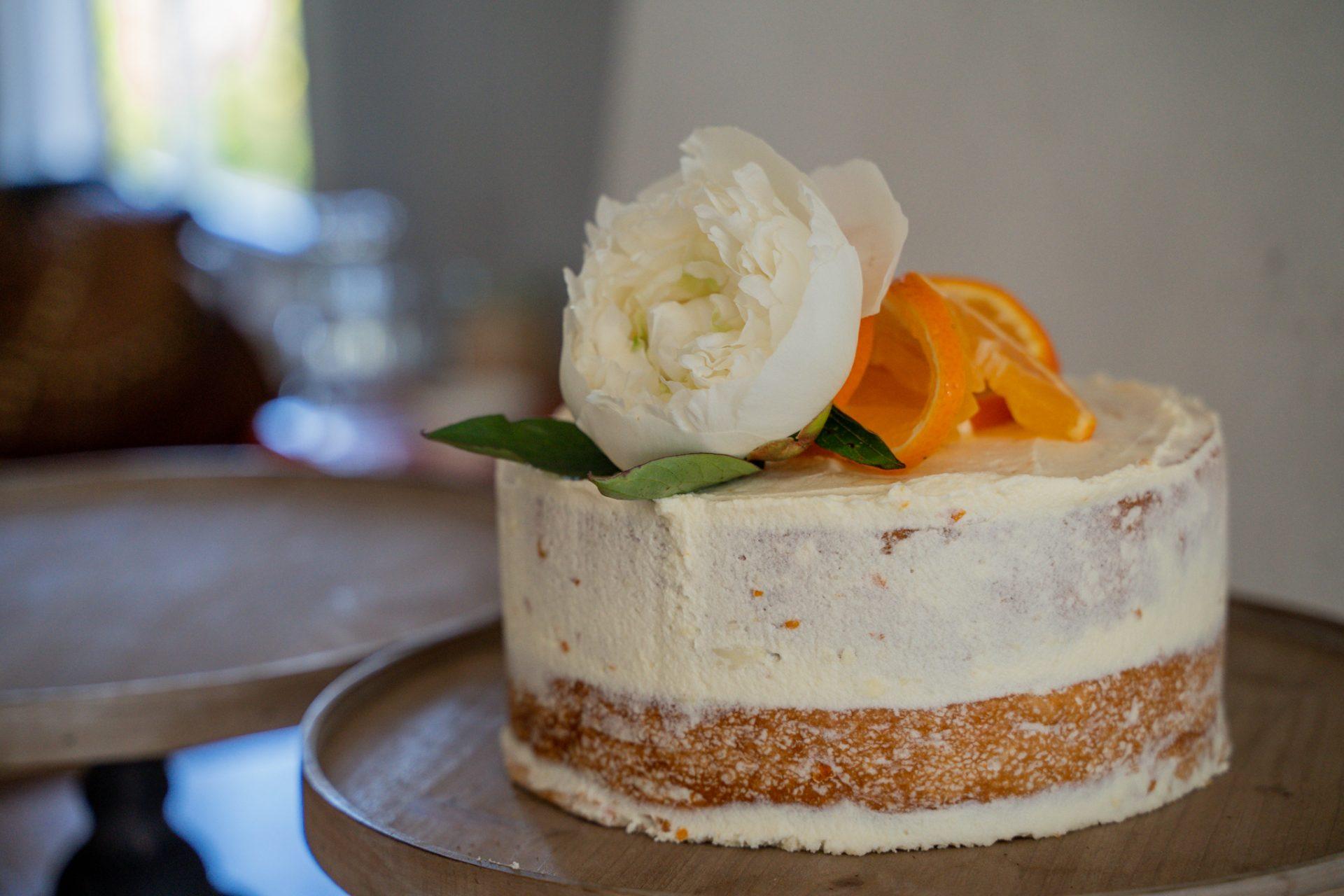 Lighthouse Peppermint Tangelo cake