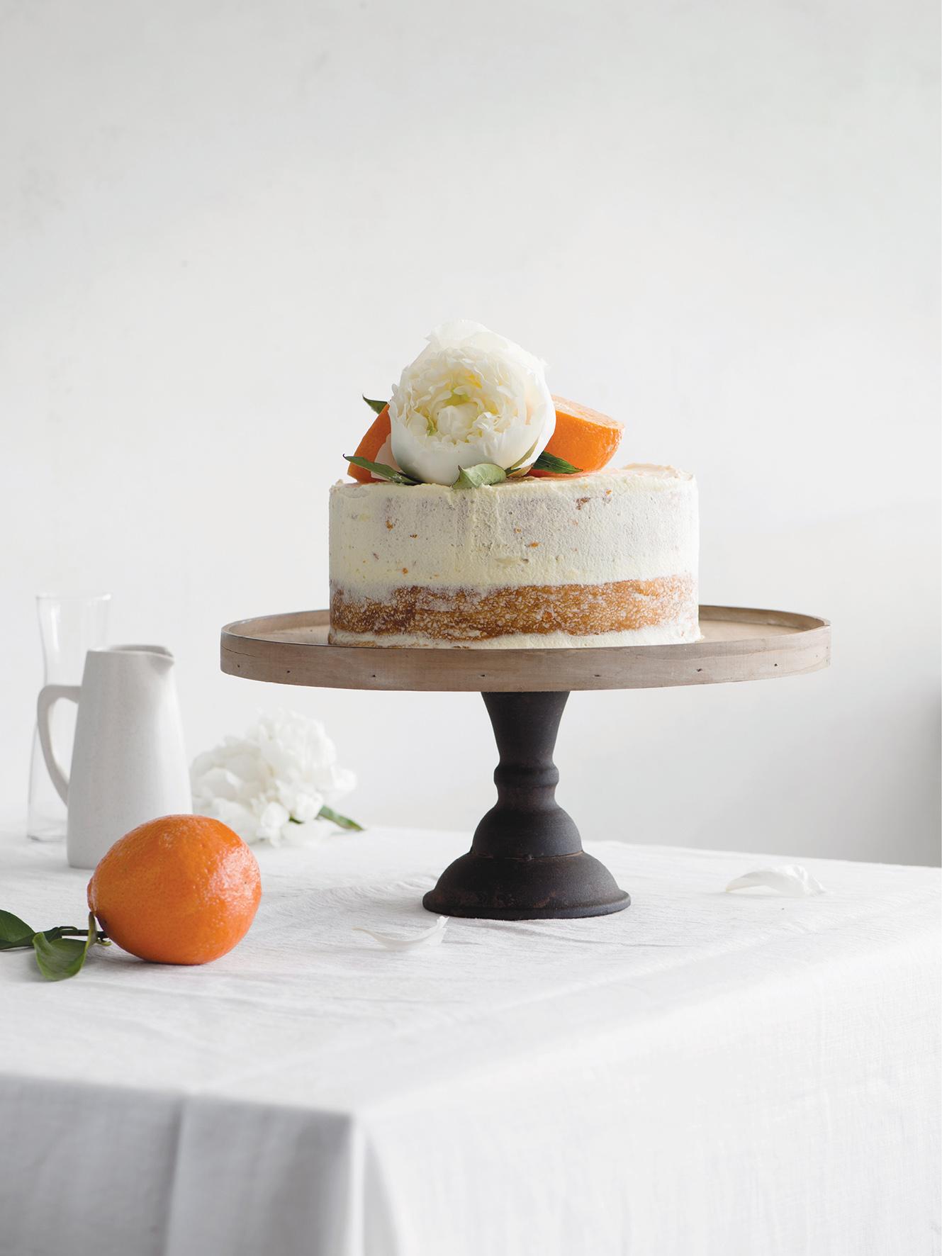 tangelo wattleseed cake