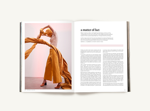 Peppermint magazine – Winter Issue 50 - fake fashion facts