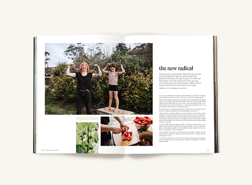 Peppermint magazine – Winter Issue 50 - hannah moloney permaculture
