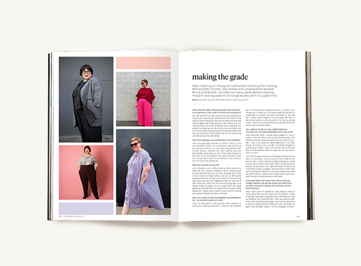 Peppermint magazine – Winter Issue 50 - Muna & Broad