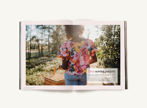 Peppermint magazine – Winter Issue 50 - free sewing pattern