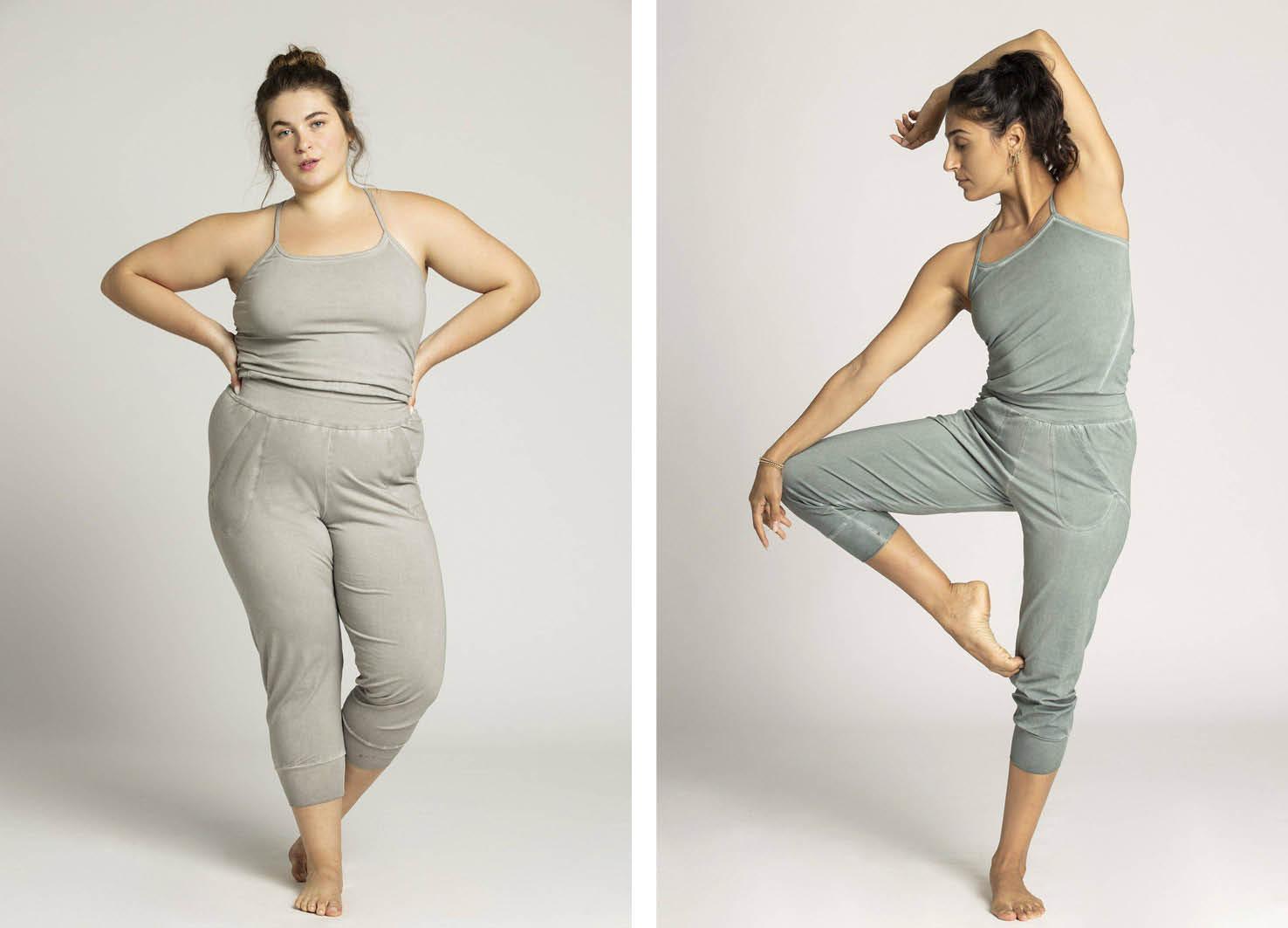 sustainable yoga clothes - ripple yoga wear